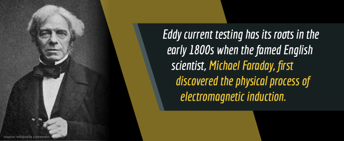 history of eddy current testing
