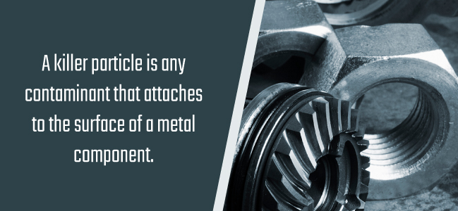 killer particles in automotive manufacturing