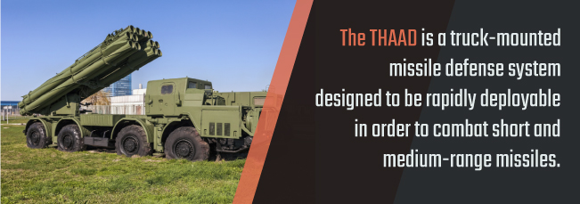 gold plating THAAD