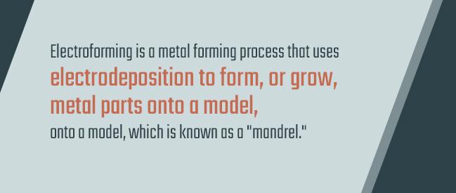 electroforming metal process
