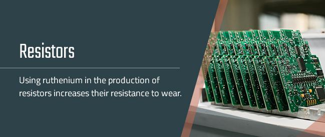 resitiors on PCB