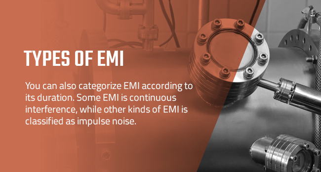 The types of EMI