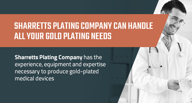 Requirements For Medical Grade Gold Plating