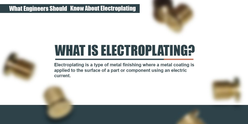 answer to what electroplating is