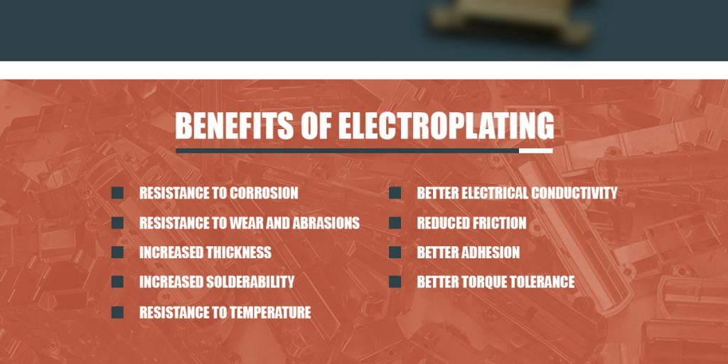 Benefits of Electroplating