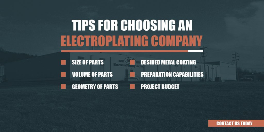 how to choose electroplating company