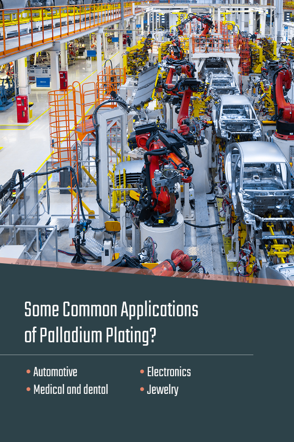 What Are Some Common Applications of Palladium Plating