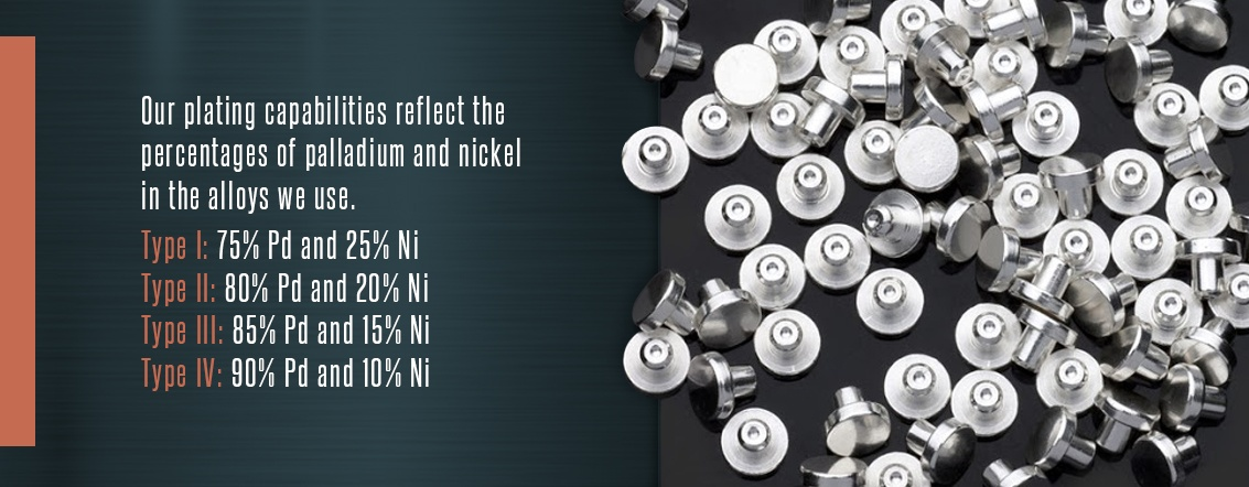 Palladium-Nickel Plating Capabilities