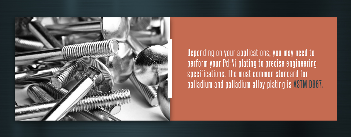 Pd-Ni Plating Specifications