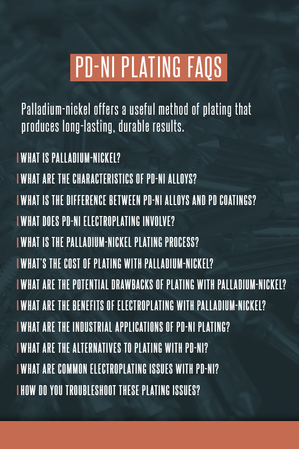 Pd-Ni Plating FAQs