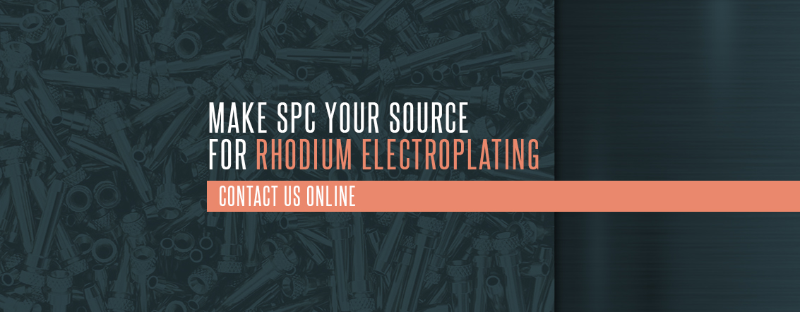 Make SPC Your Source for Rhodium Electroplating