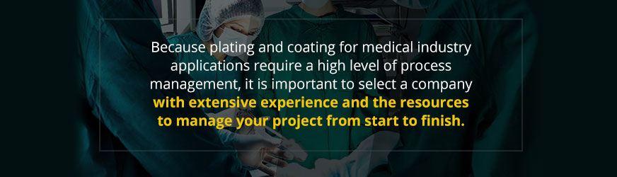 medical plating company