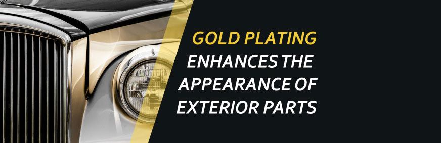 automotive gold plating services