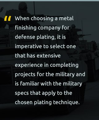 military compliance