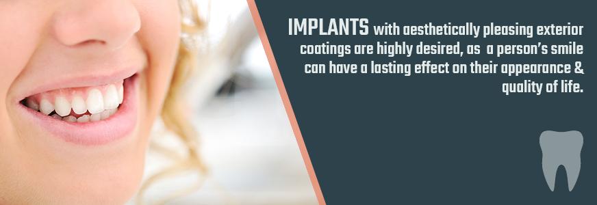 plating for dental implants