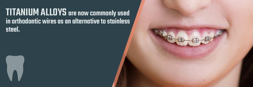 titanium plating for orthodontics