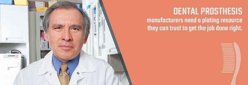 plating for dental prostheses