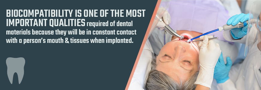 biocomptability in dental plating