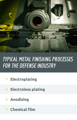types of metal finishing